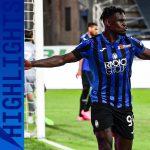 Serie A: Atalanta – Sassuolo 4-1. Le Immagini della partita