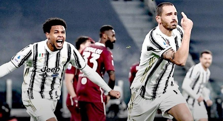 goal di bonucci nel derby