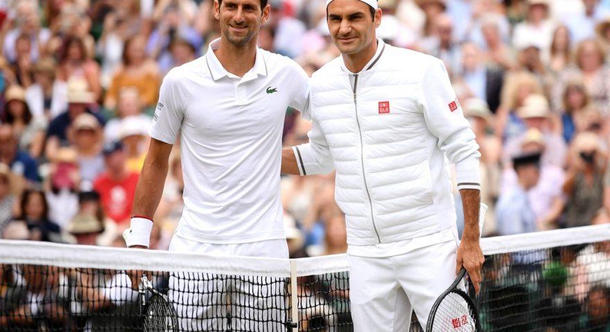 190714 Djokovic e Federer inizio match 1