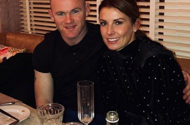 Rooney e la moglie