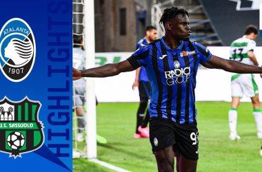 Atalanta-Sassuolo 2019-2020 Highlights
