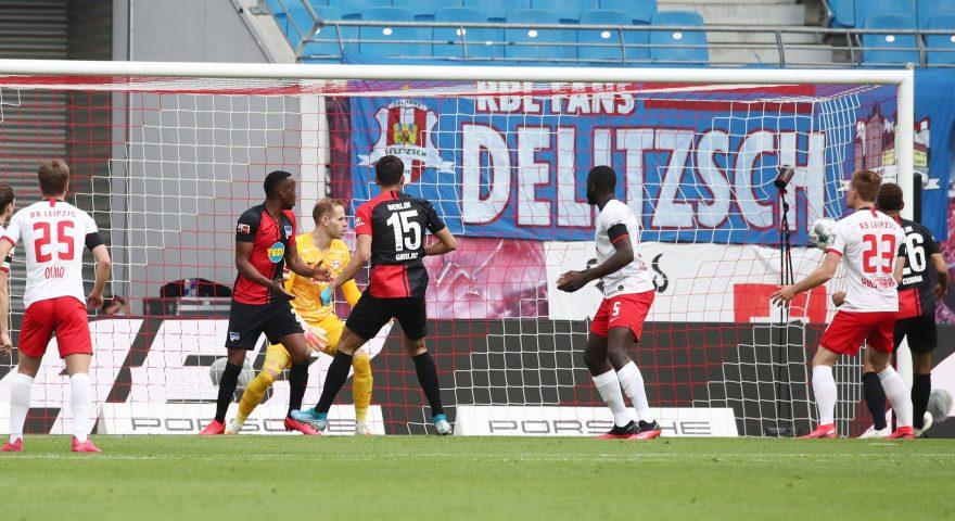l'azione del goal dell'Hertha