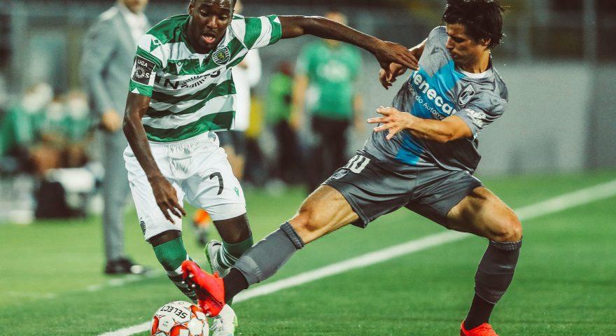 due giocatori di Primeira Liga durante una gara