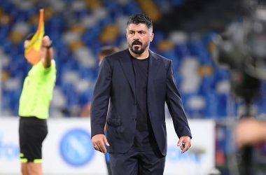Gattuso durante la semifinale contro l'Inter