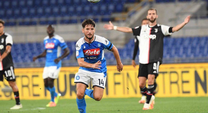 In azione durante Juve Napoli