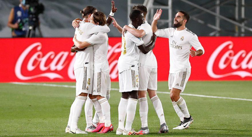 Esultanza Real Madrid