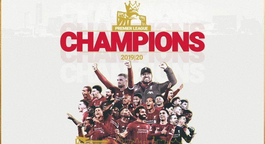 Il Liverpool è campione d'Inghilterra