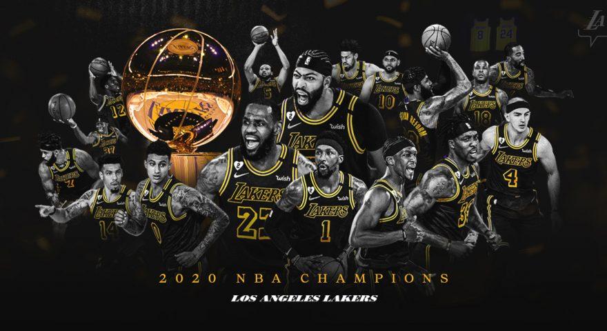 Lakers campioni in NBA