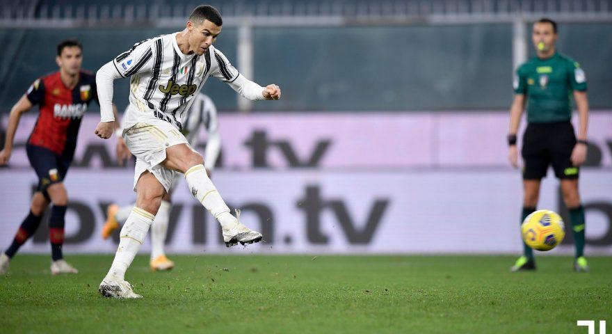 ronaldo in goal vs genoa