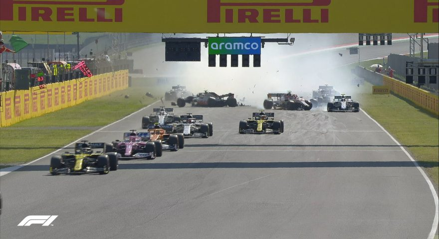 Gran Premio Mugello formula 1 incidenti