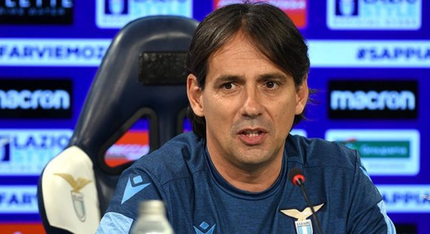 Simone Inzaghi - Ss Lazio official twitter