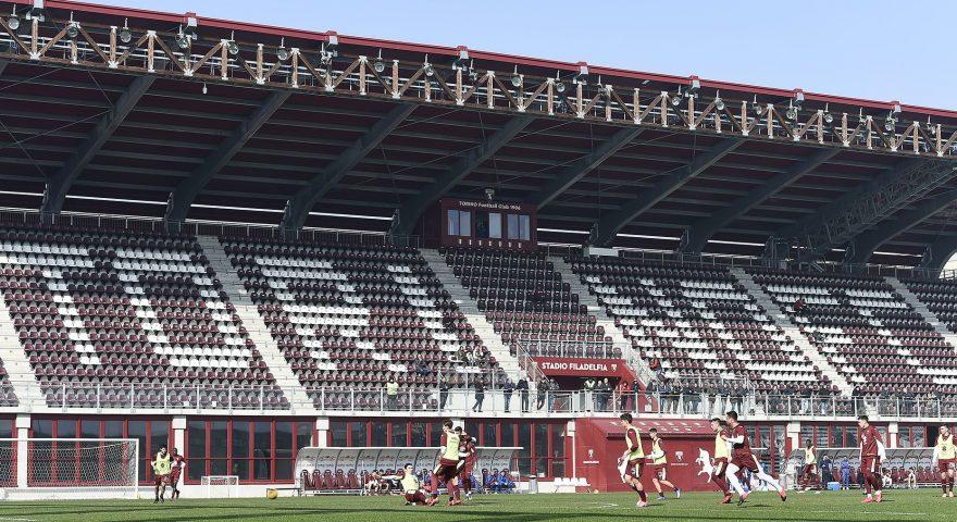 Torino allenamento stadio filadelfia