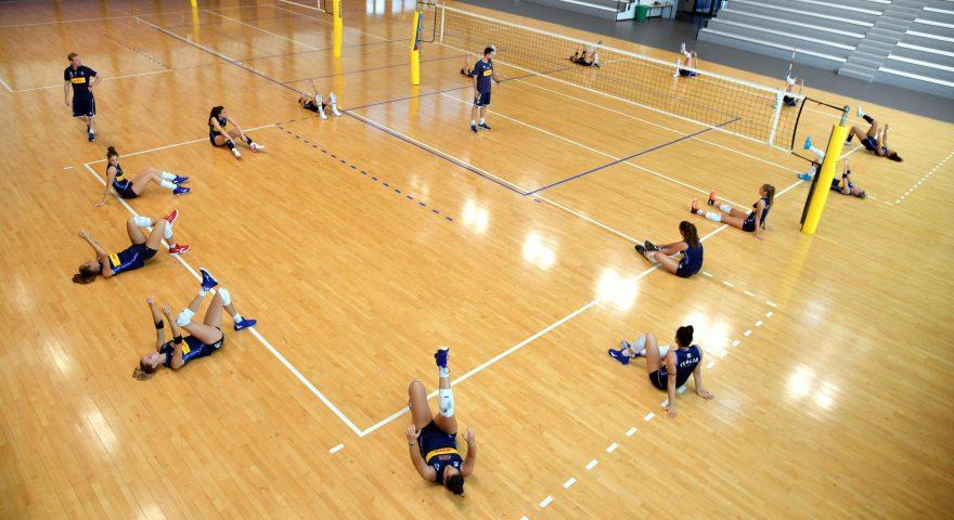 pallavolo allenamento